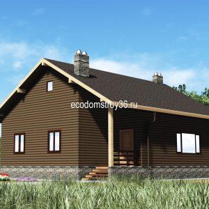 дом домус из сип панелей