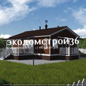 Проект дома Мемфис под ключ