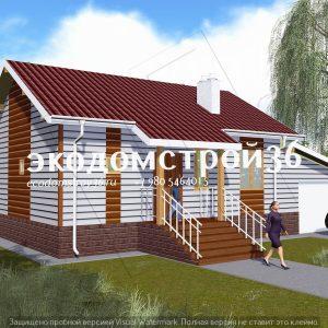 Проект дома Верона из бруса