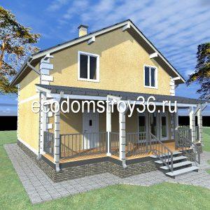 проект дома Елена в Воронеже