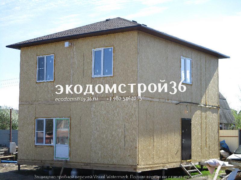 Дом из СИП панелей 2