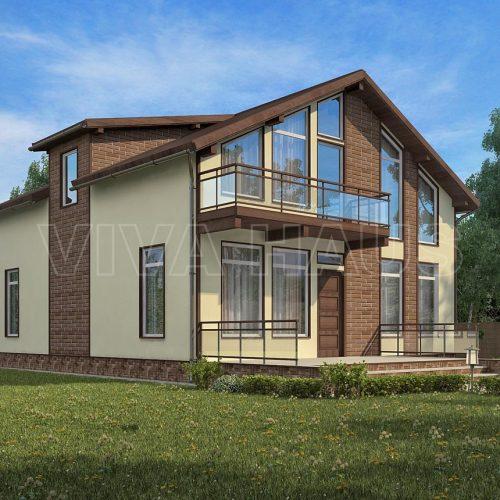 проект дома из сип панелей комильфо
