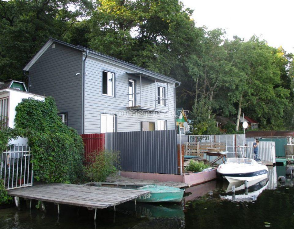 дом из сип панелей в рыбачем