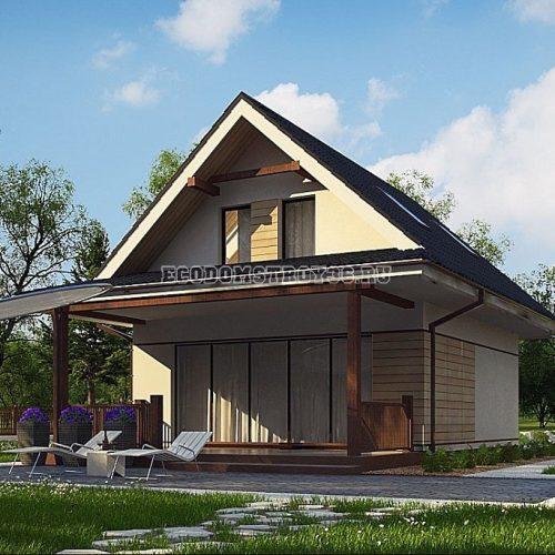проект дома из сип панелей адара