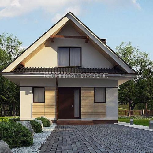 проект дома из сип панелей адара 2