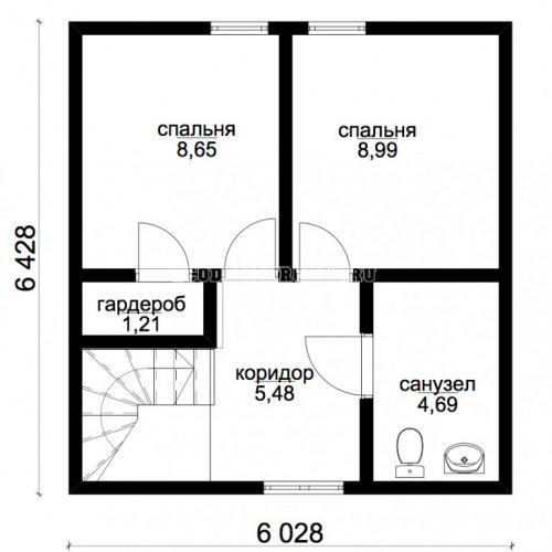 план первого этажа дома адара