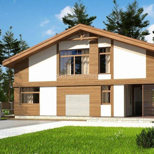 проект дома из сип панелей барселона