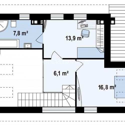 план второго этажа дома барселона