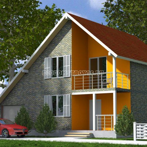 проект дома из сип панелей байкал