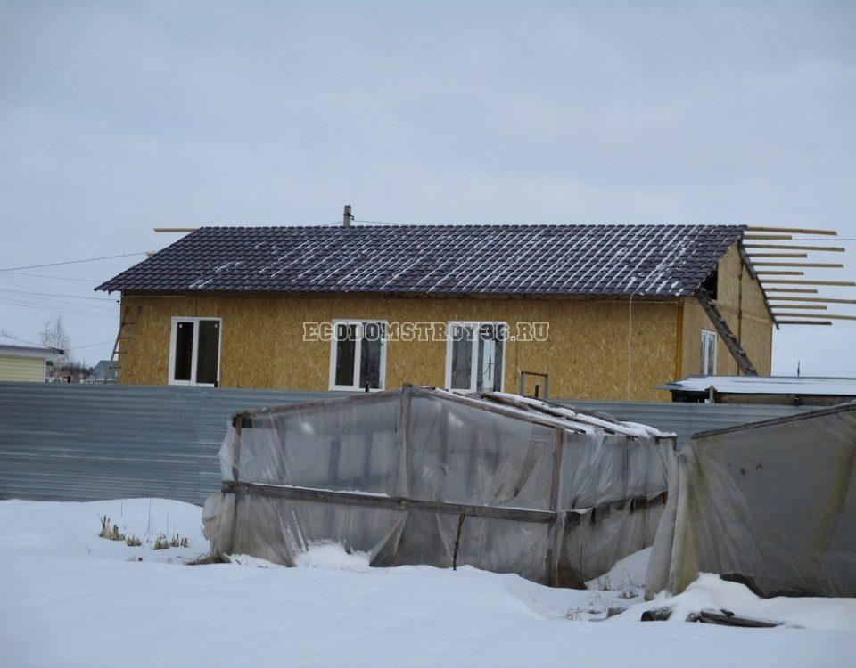 Фото дома из СИП панелей в Ельце