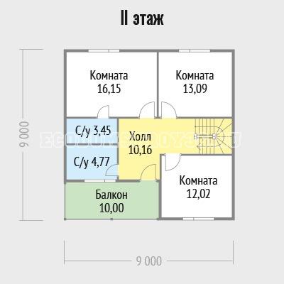 план второго этажа дома маури