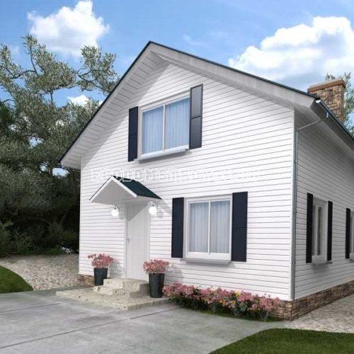проект двухэтажного дома лира