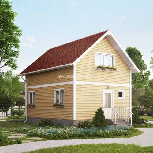 проект дома из сип панелей мечта