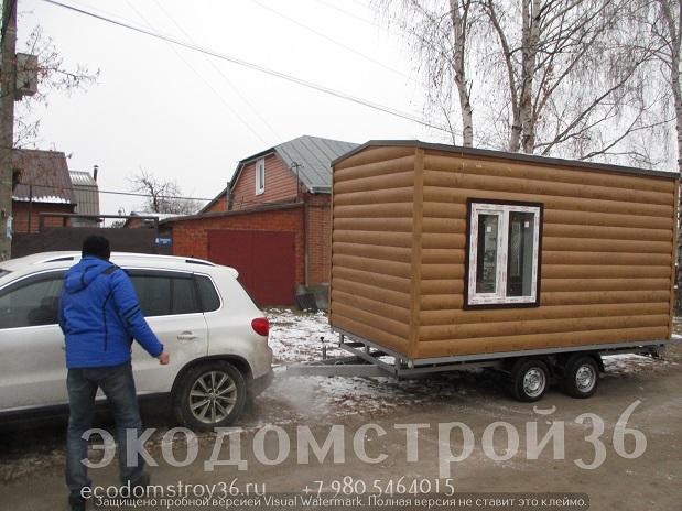 Готовая мобильная баня в Воронеже