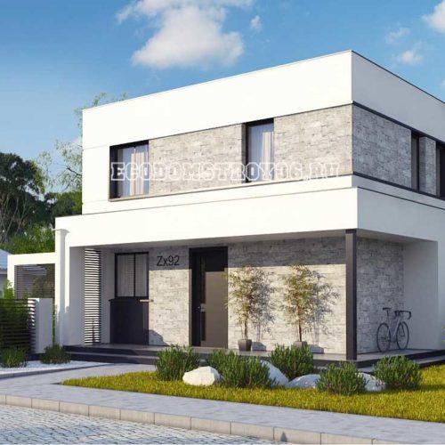 проект дома модерн 1