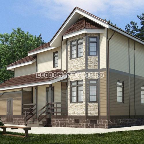 проект дома из сип панелей Орион
