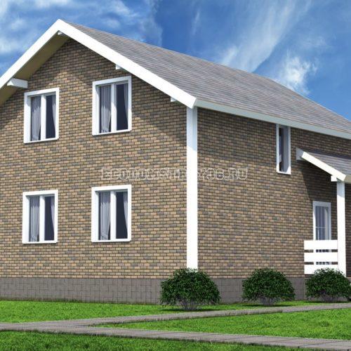 Проект дома из СИП панелей Вега