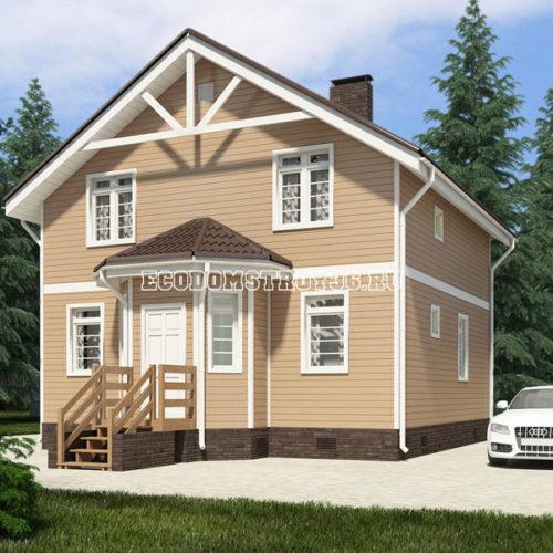 проект дома из сип панелей Волопас