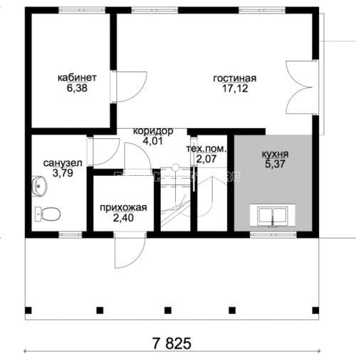план первого этажа дома аргос