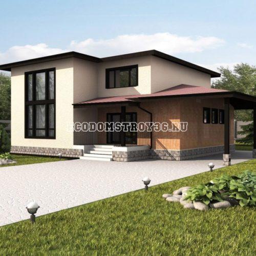 проект двухэтажного дома мемфис
