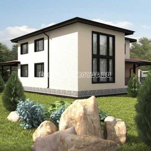 проект двухэтажного дома мемфис вид 3