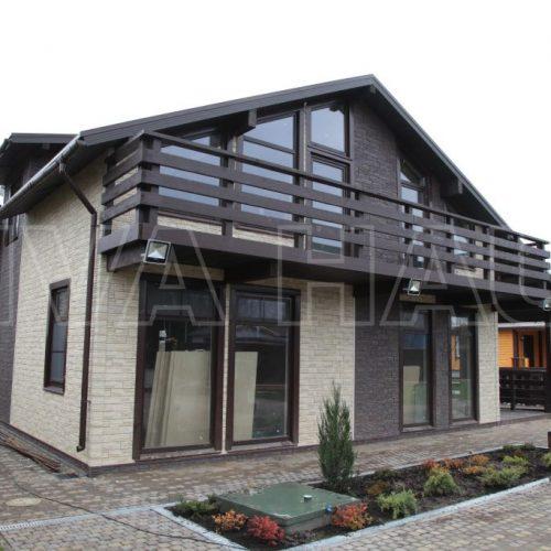 готовый дом по проекту комильфо вид 2