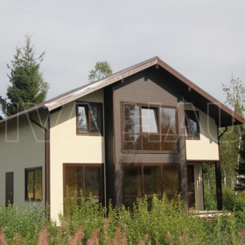 готовый дом из сип панелей по проекту легенда