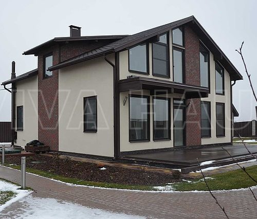 готовый дом из сип панелей по проекту комильфо
