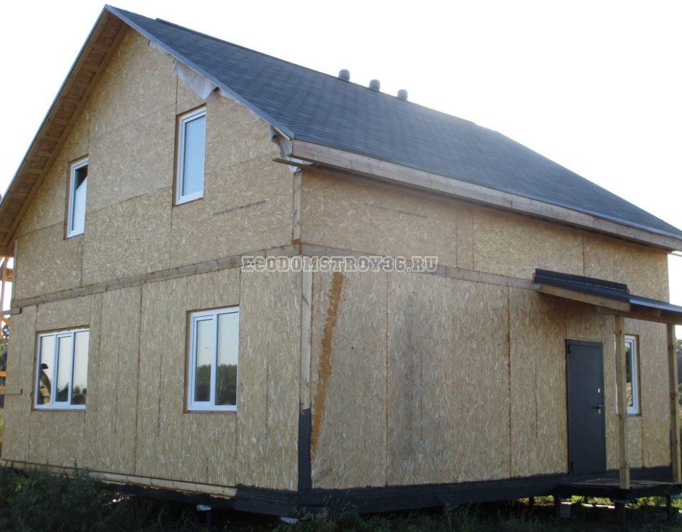 Фото дома в Гремячьем из СИП панелей