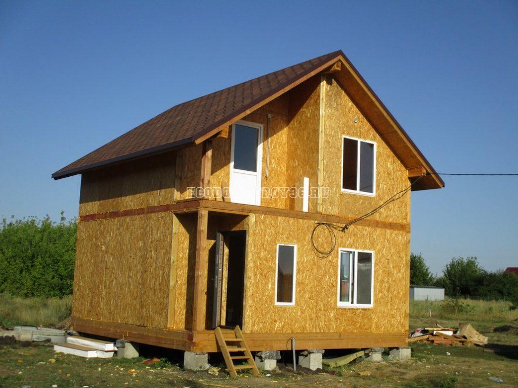 Фото домов из СИП панелей Экодомстрой 36