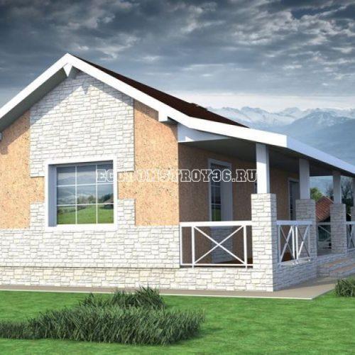 проект садового дома дд-10