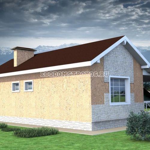 проект садового дома дд-10 вид 2