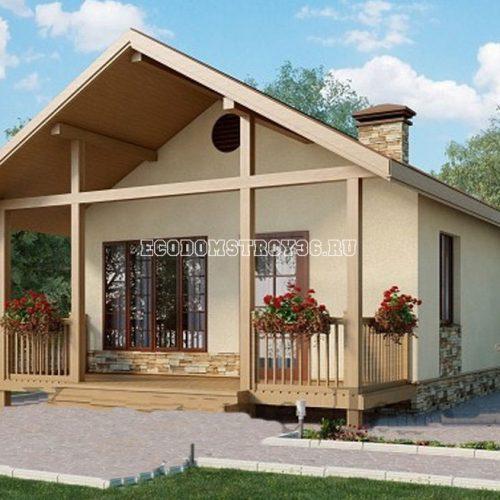 проект небольшого дома дд-14