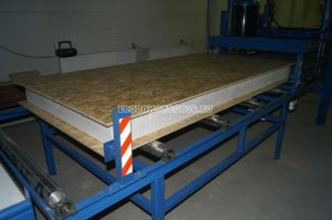 процесс производство сип панелей