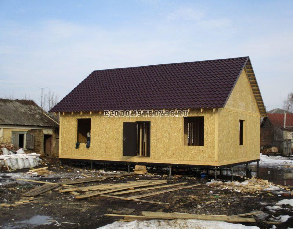 Завершение дома в Остогожском районе